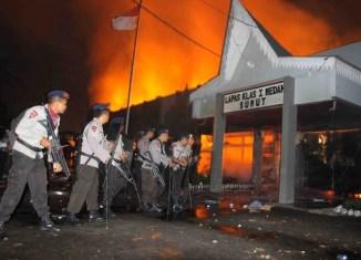 Jailbreak in Indonesia causes pure pandemonium
