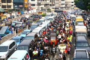 Indonesia traffic