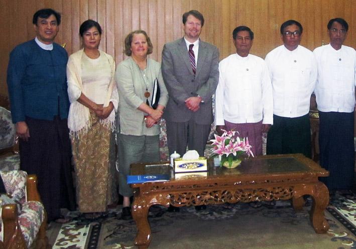 John Goyer Myanmar