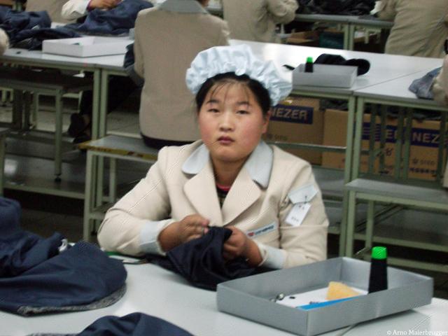 Kaesong garmet worker:_Arno Maierbrugger