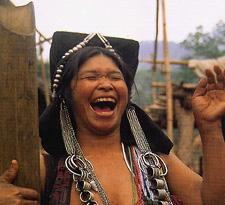 Laos Laughing Lady Sm