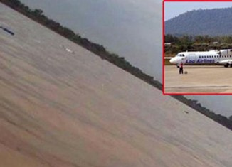 Lao Airlines plane drops into Mekong, 49 killed