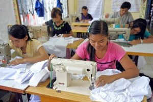 CAMBODIA-FINANCE-ECONOMY-TEXTILE