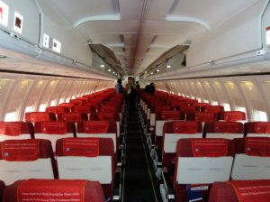 Lion air cabin
