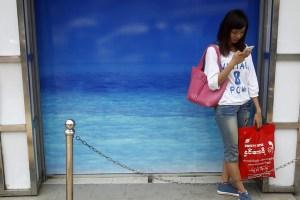 Foreign telecom giants pioneer Myanmar market
