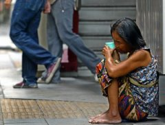 Manila beggar