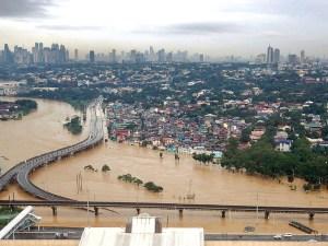 Manila under water