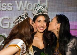 Chinese-Greek student wins Miss World Singapore