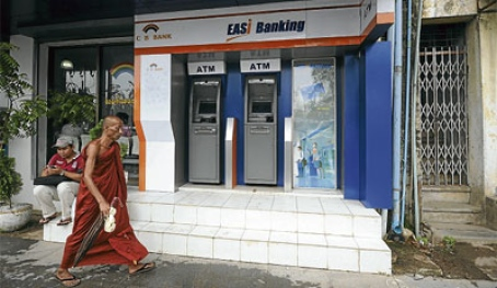 Myanmar out of the banking backwoods