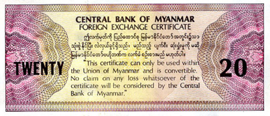 Myanmar phases out dollar surrogate