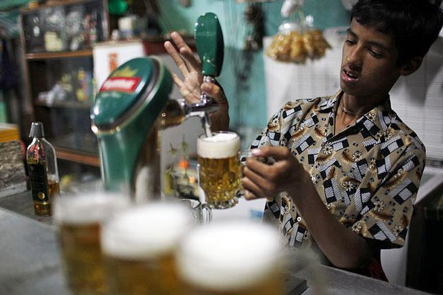 Myanmar thirsting for beer, hard liquor