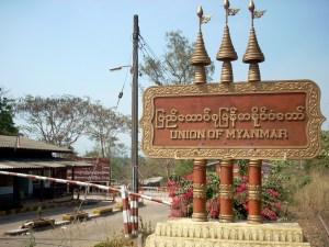 Myanmar border