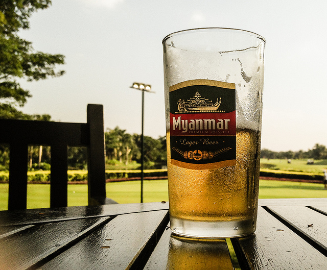 Thailand to taste Myanmar beer