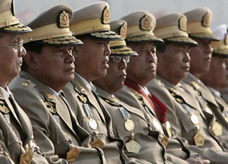 Myanmar spent 29% of budget for the army