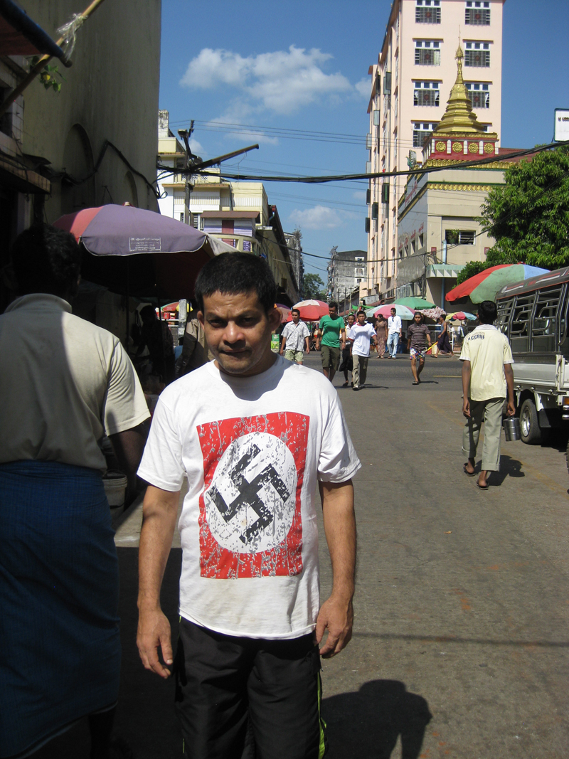 Myanmar faces down its own Hitler fascination