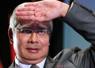 Malaysian prime minister's popularity shrinks