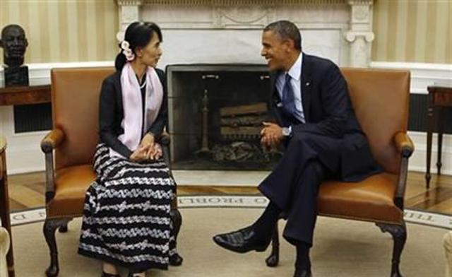 Obama San Suu Kji