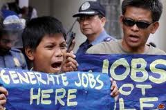 Philippine jobless rate rises to 7.5%