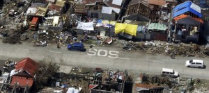 Philippines Typhoon SOS