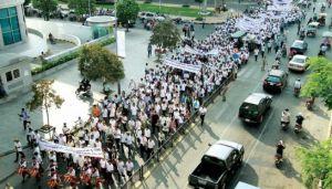 Phnom Penh marches