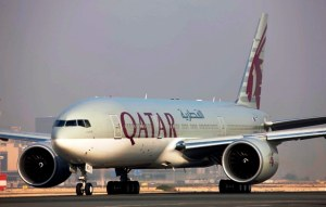 Qatar Airways Thailand b777