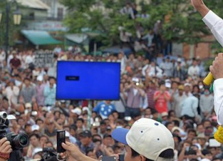 Mass protests in Cambodia rekindling