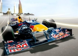 Red Bull Race Car