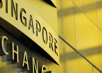 Singapore stocks hit hard
