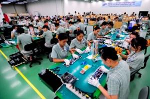Samsung-Vietnam factory