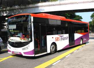 Singapore bus driver sacked for nail trim (video)