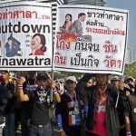 Thai protesters disregard poll, still want Yingluck out