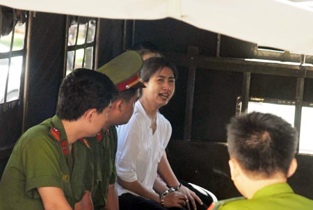 Alleged Thai drug smuggler sentenced to death in Vietnam
