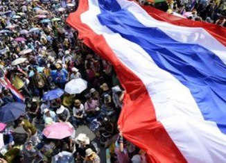 Thai street protests caused $2.2b in damage