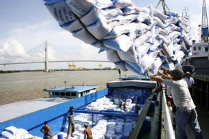 Thai rice export