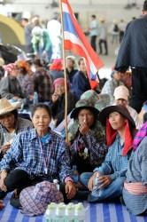 Thai rice farmers