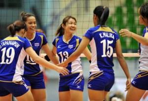 Thai volleyball team1