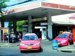 Thailand gas station