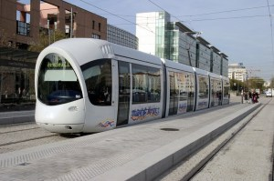 Eco-friendly, data-controlled tram in Rabat, Morocco