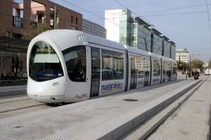Eco-friendly, data-controlled tram in Rabat, Morocco