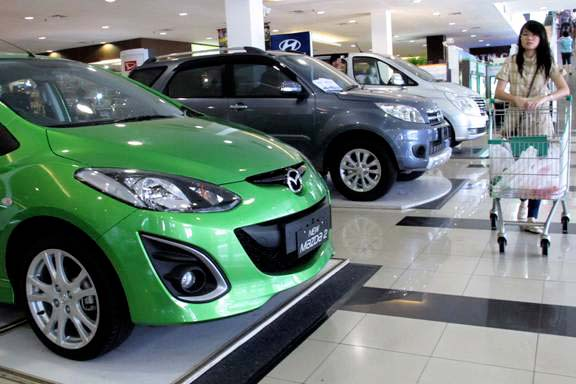 Indonesia seen beating Thailand in car sales