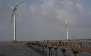 Vietnam bac lieu wind turbines