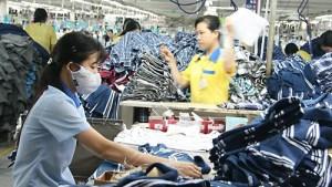 Vietnam textile factory