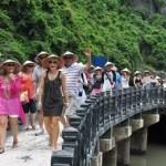 Tourist arrivals to Vietnam surge