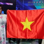 Vietnam beauty queen misspells country's name