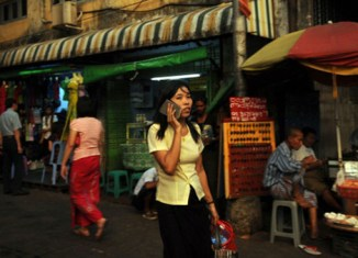 Telenor launches Myanmar mobile phone service