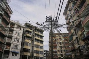 Yangon power cables1