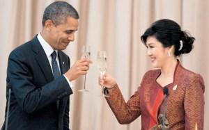 Yingluck-Shinawatra Obama