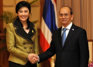 Yingluck And Thein Sein
