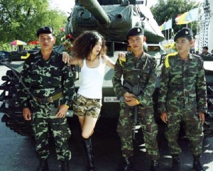 army and model