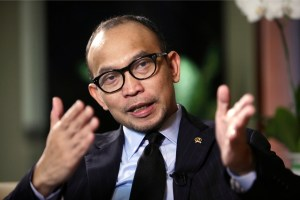 Indonesia's finance minister Chatib Basri